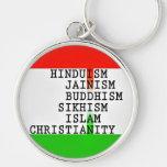 Indisches (alle Religionen) großes erstklassiges K Schlüsselbänder