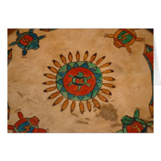 Indisches Artefakt Karte