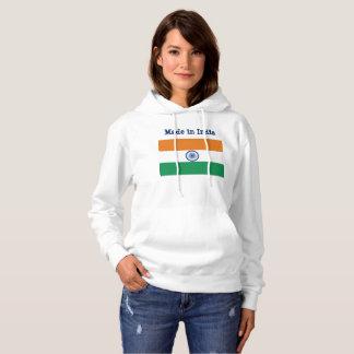 Indisches Flaggen-Sweatshirt Hoodie