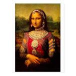 Indisches königliches Monalisa Postkarte