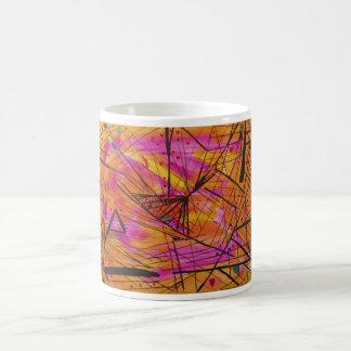 Indisches Sonnenuntergang-Aquarell Kaffeetasse