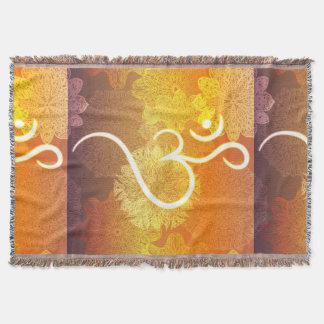 Indisches Verzierungsmuster mit Ohmsymbol Decke