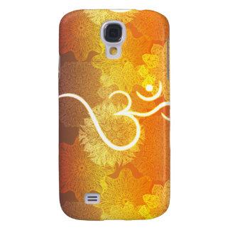 Indisches Verzierungsmuster mit Ohmsymbol Galaxy S4 Hülle