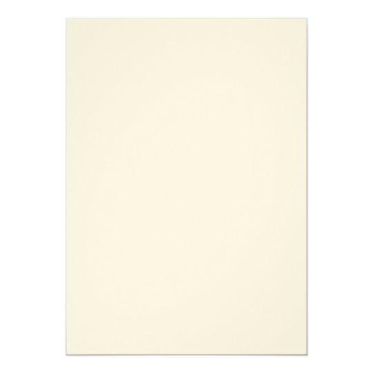 Ecru-Filz 12,7 cm x 17,8 cm, weiße Briefumschläge inklusive