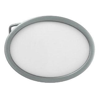 Individuelle ovale Gürtelschnalle
