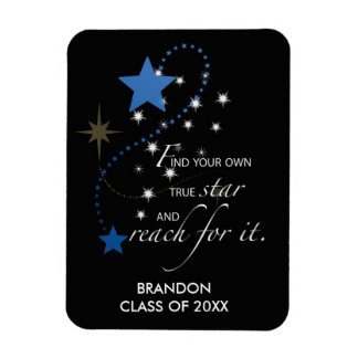 Individueller Name blauer Brandon, Klasse von, Magnet