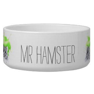 Individueller Name Herrn Hamster | Napf