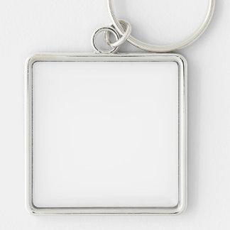 Individueller quadratischer Schlüsselanhänger