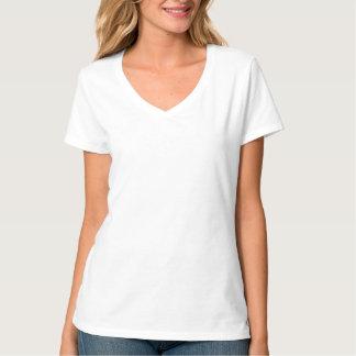 Individuelles 2XL Damen V-Ausschnitt Hemd