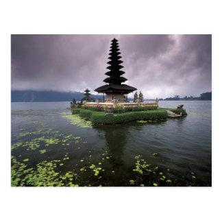 Indonesien, Bali, Ulun Danu Tempel Postkarte