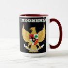 Indonesien-Wappen Tasse