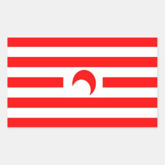 Indonesischer Co-Wohlstand Berechtigungs-Aufkleber Rechteckiger Aufkleber