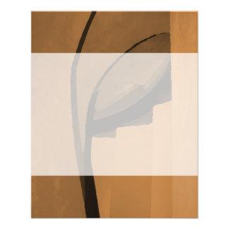 Industrielle Artzusammenfassung Browns 11,4 X 14,2 Cm Flyer