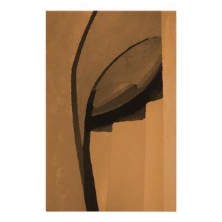 Industrielle Artzusammenfassung Browns 14 X 21,6 Cm Flyer