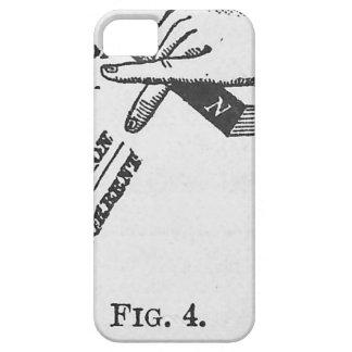 Industrielle mechanische Vintage Technik iPhone 5 Schutzhülle