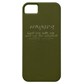Industrielle militärische komplexe Zombies iPhone 5 Hüllen