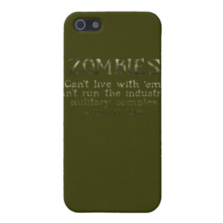 Industrielle militärische komplexe Zombies iPhone 5 Schutzhüllen