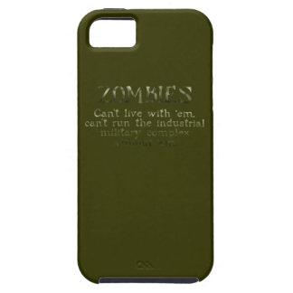 Industrielle militärische komplexe Zombies Tough iPhone 5 Hülle