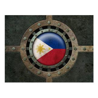 Industrielle philippinische postkarte