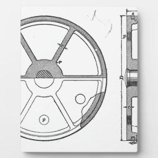 Industrieller mechanischer fotoplatte