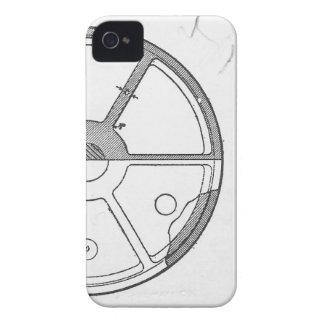 Industrieller mechanischer iPhone 4 hülle