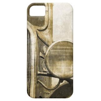Industrieller Western-Land-rostiger iPhone 5 Hülle