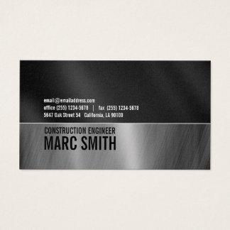 Industrielles Blick-Visitenkarte-Platin-Papier Visitenkarten