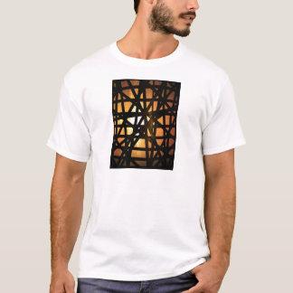 Industrielles Lampen-Metall abstrakt T-Shirt