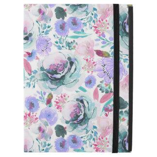 Indy Blüten-Entwurfs-ultraviolette Blüte ipad