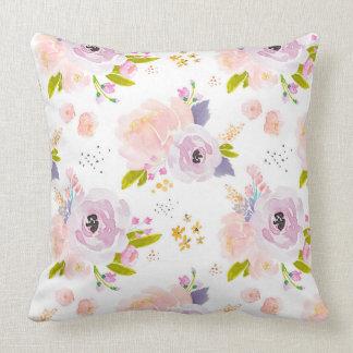 Indy Blüten-pfirsichfarbenes Pflaumen-Kissen Kissen