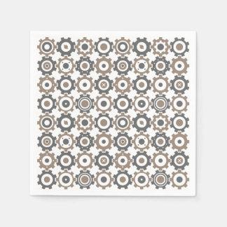 Ineinander greifengang-Muster Papierservietten