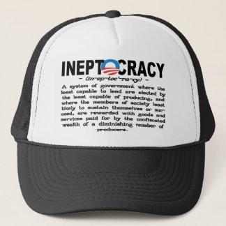 Ineptocracy Definitions-Hut (Schwarzes) Truckerkappe