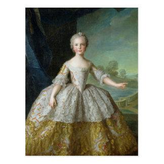 Infanta Isabelle de Bourbon-Parme 1749 Postkarte