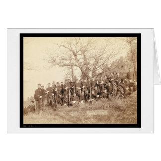 Infanterie der Firmac 3. US nahe Fort Meade Sd Karte