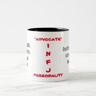 INFJ Persönlichkeits-Tasse Zweifarbige Tasse