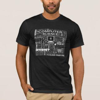 Informatik-T - Shirt auf Dunkelheit