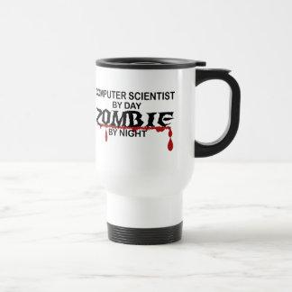 Informatiker-Zombie Reisebecher