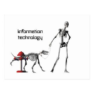 Informationstechnologie Postkarte