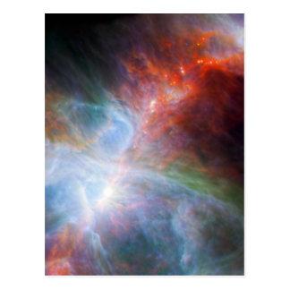 Infrarotlicht im Orions-Nebelfleck Postkarte