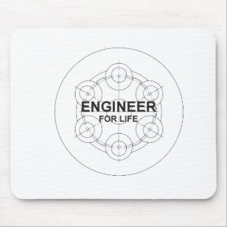 Ingenieur für das Leben Mousepad