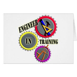 Ingenieur im Training Karte