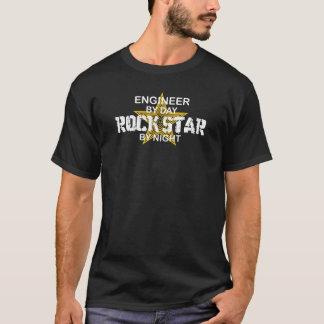 Ingenieur-Rockstar bis zum Nacht T-Shirt