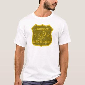 Ingenieur-trinkende Liga T-Shirt