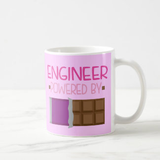 Ingenieurschokolade Geschenk für sie Kaffeetasse