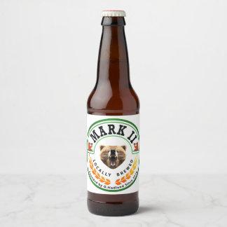 Ingwer-Bier des Kennzeichen-II Bierflaschenetikett