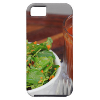 Ingwer-Karotten-Tomate, die Brunnenkresse-Salat iPhone 5 Schutzhülle