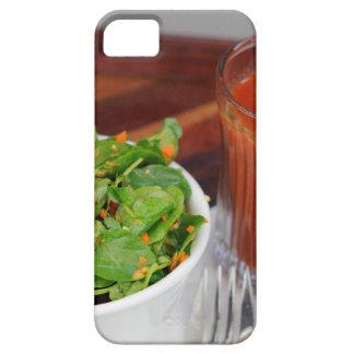Ingwer-Karotten-Tomate, die Brunnenkresse-Salat Schutzhülle Fürs iPhone 5