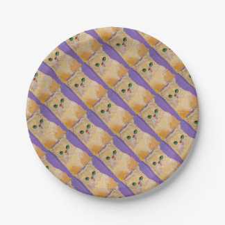 Ingwer-Katzen-Party-Platte Pappteller