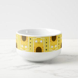 Ingwer-Katzensuppen-Tasse Große Suppentasse