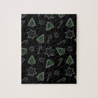 Ingwerplätzchen Weihnachtsmuster Puzzle